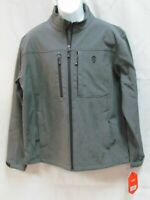 FREE COUNTRY MEN SOFT SHELL JACKET CHARCOAL GRAY LARGE 42-44 NWT