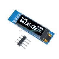 """0.91"""" IIC I2C Serial OLED LCD Display 128x32 3.3V/5V AVR PIC STM32 Arduino White"""