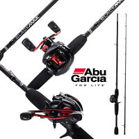 ABU GARCIA BLACK MAX 3 BAITCAST COMBO ROLLE LINKSHAND + RUTE 1,98m/15-45gr.