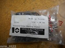 MCM Electronics 33-1390 UHF/VHF/FM Matching Transformers New (Lot of 10)