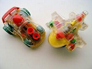 Giochi per bambini Chicco vintage anni 90. Aereo e Auto funzionanti a carica