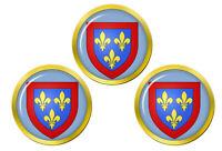 Anjou (France) Marqueurs de Balles de Golf