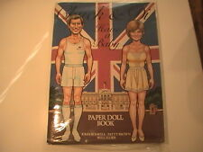 Nip Vintage: Chuck And Di Have A Baby Paper Doll Book By Simon & Schuster 1982