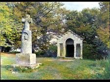 MONT-BEUVRAY (71) CHAPELLE SAINT-MATIN & OPPIDUM construit sur ancien TEMPLE