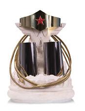DC Collectibles Wonder Woman Tiara Bracelets Lasso Prop Replica Set In Stock