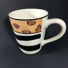 Menagerie Animal Patchwork Zebra and Cheetah Markings  Mug  GR2