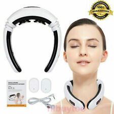 Electric Cervical Neck Pulse Massager Body Shoulder Muscle Relax Relieve Pain N