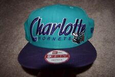 Charlotte Hornets Era 9fifty NBA Snapback Hat Cap Hardwood Classics HWC