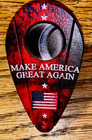 "MAGA- ""MAKE AMERICA GREAT AGAIN""-U.S.A.FLAG ""XIKAR  DOUBLE GUILLOTINE CUTTER NEW"