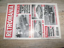 µµ Retromania n°38 Dossier 604 Renault 10 MG 24 heures du Mans 1969 M.Gregoire