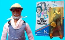 "1981 DUKES OF HAZZARD 8"" mego figure -- CUSTOM -- UNCLE JESSE with Card"