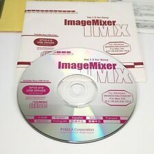 Pixela Image Mixer Version 1.5 For Sony CD-Rom Windows Mac Including USB Driver