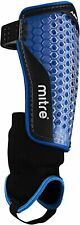 Mitre Aircell Power  Football Shin Pads/Guards with Ankle Protection Size X LGE