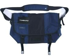 NWT Timbuk2 Classic Cordura Fabric Premium Messenger Bag LARGE, Dusk Blue/Black