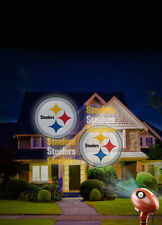 Pittsburgh Steelers NFL House Projection Light Indoor/Outdoor Use FREE SHIP!