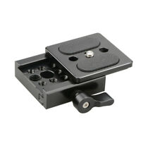 CAMVATE ARCA Swiss Baseplate Quick Release Clamp Mount Rig for Camera DSLR Cage