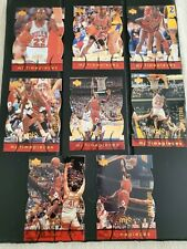 1998-99 Michael Jordan UD MJ Timepieces 8 Card Lot /2300