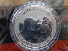 2014 Australia Kangaroo 1 oz  .999 Silver O G. P.