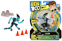 Ben 10 XLR8 With Race Accessories 12 cm 5 in Action Figure #76108 Brand New