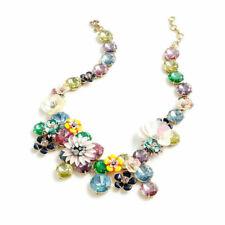 J.Crew Flower Statement Women's Necklace - Multi Color