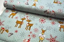 Studio E usa CREATEUR tissu 0,5 M Noël Joy Love peace Christmas M