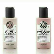 Maria Nila Luminous Colour Shampoo and Conditioner  100% VEGAN 100ml Travel Size