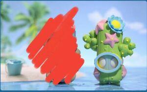 pop mart Little Voyages heatwave --- cactus (just opened bag)