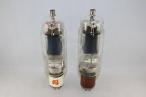 MATCHED Pair GE 814 VT-154 Transmitting Beam Power Amplifier Tubes TEST STRONG