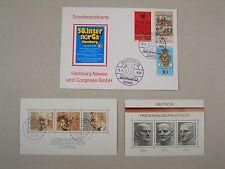 Deutsche Bundespost - 70er Jahre - Ganzsache - Blöcke - Nobelpreisträger - BRD