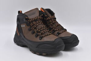 Men's Skechers Pedley - Aster Hiking Ankle Boots, Brown, 7.5