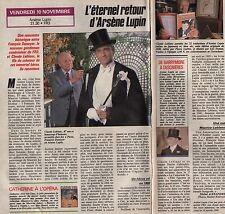 Coupure de presse Clipping 1989 Claude Leblanc  (1 page 1/2)