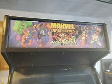 spider-man marvel super heroes vs street fighter arcade vending machine vintage