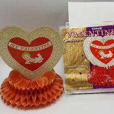 Beistle Valentine Centerpiece Tissue Honeycomb Heart Cupid USA
