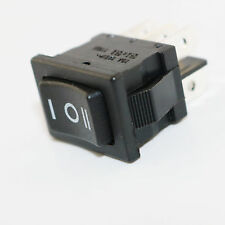 Black RLEIL Rocker Switch On-Off-On 6Pin 3 Position DPDT 10A/6A 125V/250V AC RL3