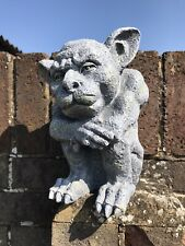 Latex Mould to Create this Gargoyle Garden Ornament, Suitable for Concrete