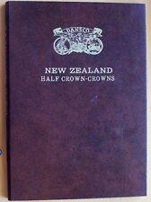 DANSCO NEW ZEALAND HALF CROWN-CROWNS PUSH IN COIN ALBUM