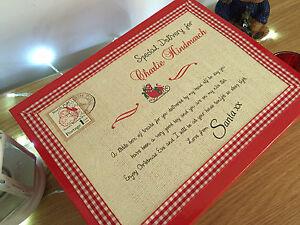 Personalised Christmas Eve Box. Reusable Christmas Eve Box. Christmas Eve Box