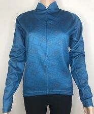 NIKE Women's Fit Dry Jacket Half Zip Athletic Storage pockets Long Sleeve Size M