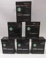 STARBUCKS VERISMO CAFFE VERONA DARK ROAST  72 PODS Dec 30 2019