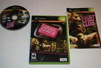 Fight Club Microsoft Xbox Video Game Complete