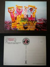 Postcard Viareggio Wagon Carnival The carnival of Six Large MORE a