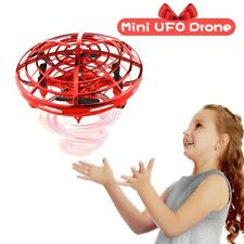 360° Mini Drone Smart UFO Aircraft Kids Flying Toys RC Hand Control Quadcopter