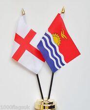 England & Kiribati Friendship Table Flags