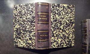 Gli studi in Italia, Volume I, Periodico Scientifico Letterario, Anno VII 1884