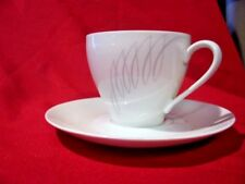 Eschenbach Bavaria AZC Cup and Saucer set Lot of 5  5 cups 5 saucers