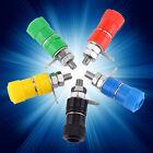 20X 5 Color Binding Post Female Socket Jack for 4MM Banana Plug Connectors New