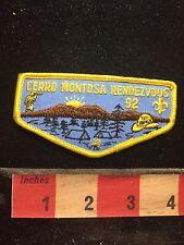 1992 CERRO MONTOSA RENDEZVOUS Boy Scout Patch 76Y7