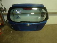 04-11 CHEVROLET AVEO Blue 156L Rear Hatchback w/o Spoiler Trunk Lid Gate