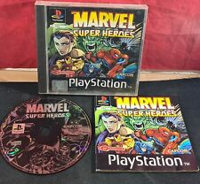 Marvel Super Heroes (Sony PlayStation 1) VGC