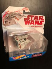 STAR WARS REBEL SNOWSPEEDER The Last Jedi Hot Wheels flight stand starships